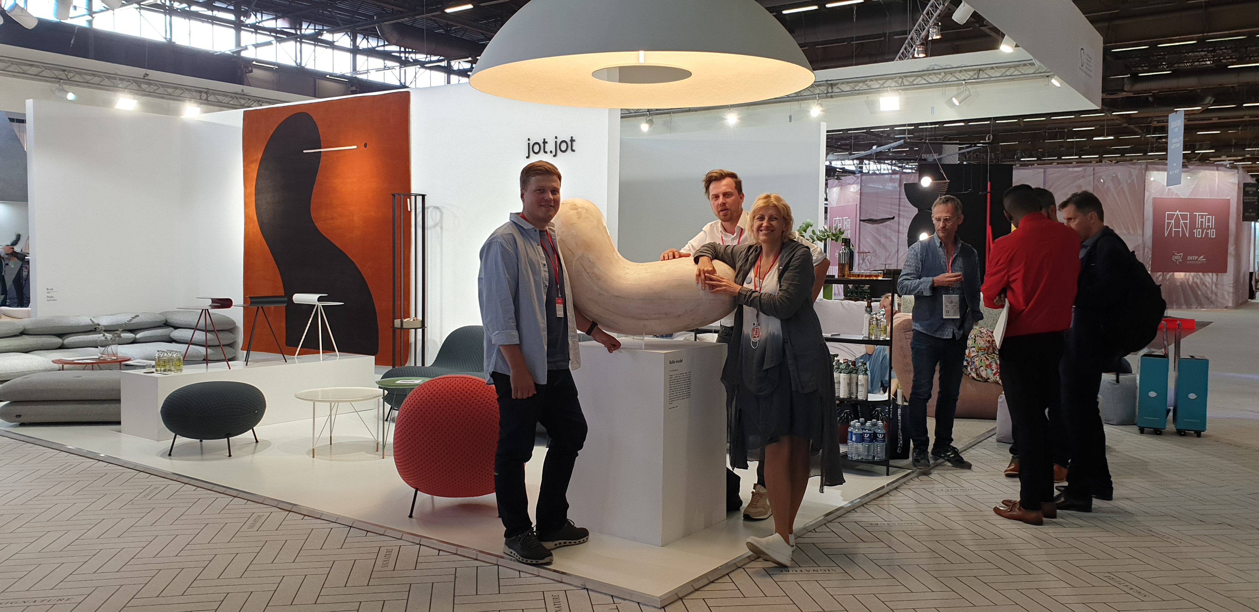 Lithuanian Embassy at Home Show in Paris
